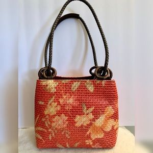 Made in Italy for Neiman Marcus woven straw bag
